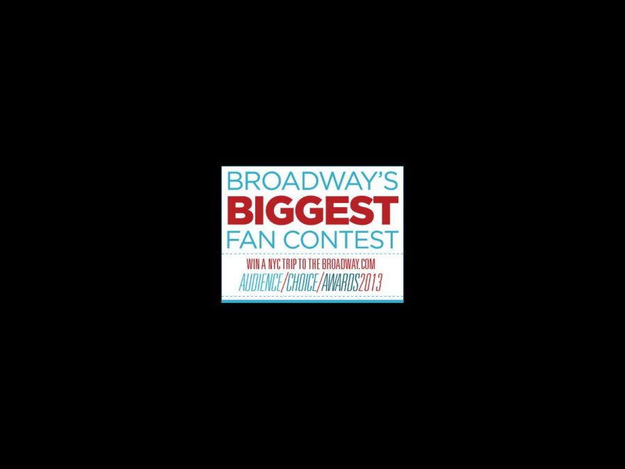 Broadway's Biggest Fan contest
