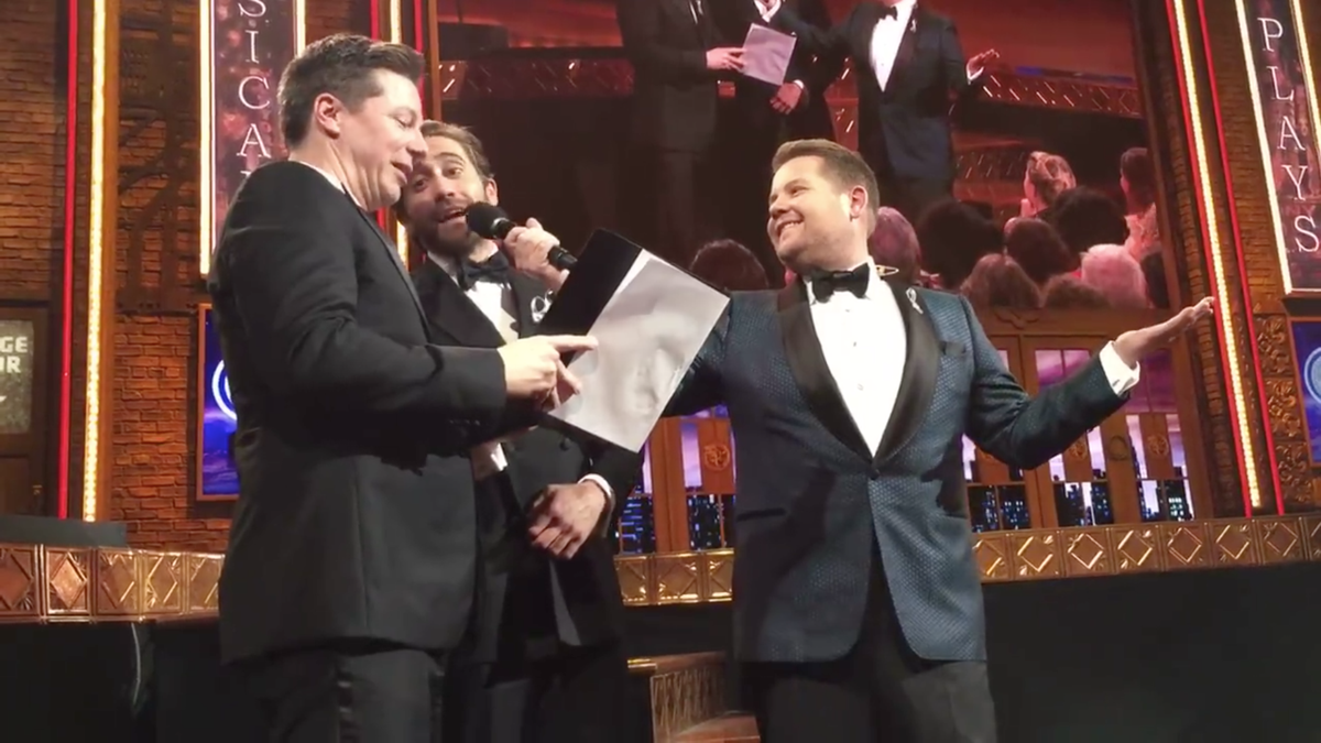 WI - Sean Hayes - Jake Gyllenhaal - James Corden - 6/16