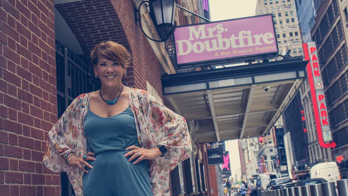 Away From Home - Doreen Montalvo - Mrs. Doubtfire - 8/20 - Matt Stocke for Broadway.com