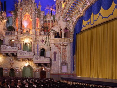 Orchestra view of Majestic Theatre